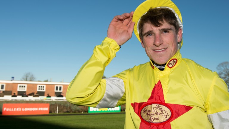 Harry Skelton: part of a five-strong jump jockeys team at Olympia