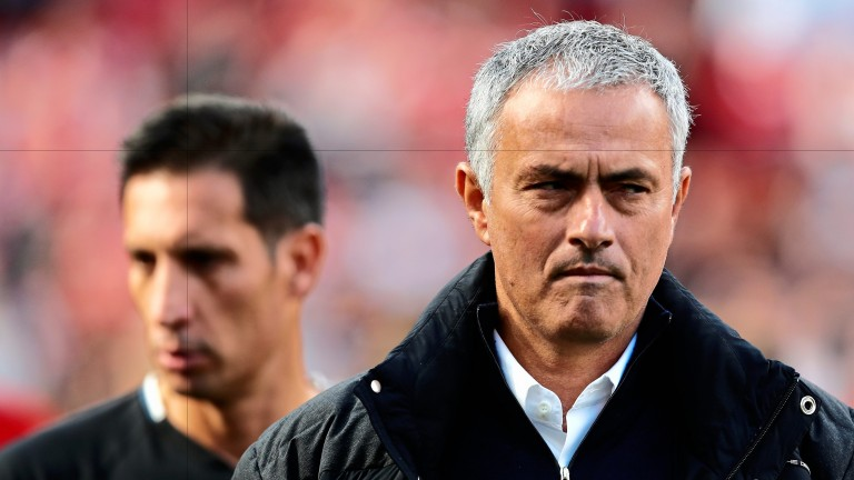 Things have not always gone smoothly for Jose Mourinho and Manchester United