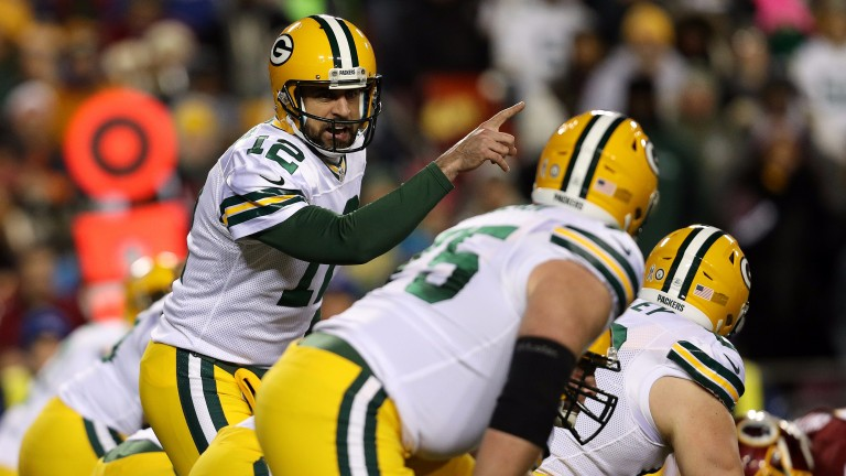 Aaron Rodgers will start at QB for Green Bay