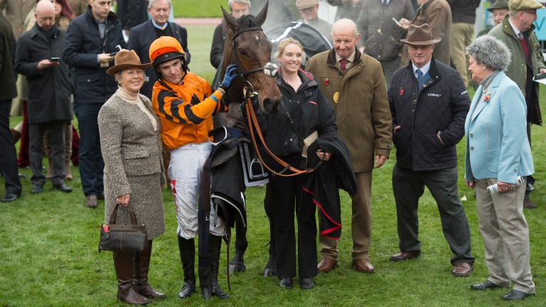Team Thistlecrack: fingers crossed for the Gold Cup