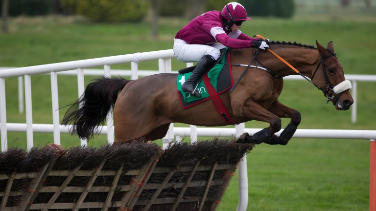 Death Duty: disposed of a strong field in the Monksfield Novice Hurdle