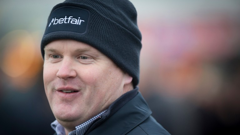 Gordon Elliott: sent out a staggering 1,099 runners in 2016, 542 more than Willie Mullins