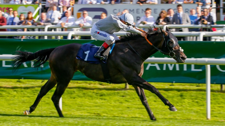 Central Square wins on the Flat at Doncaster in September