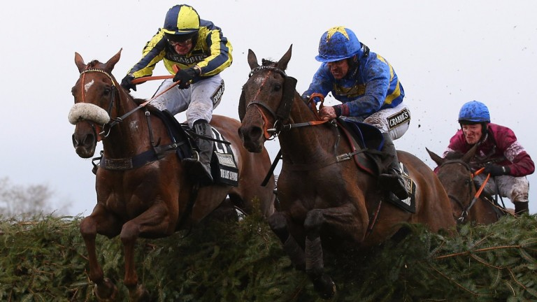 The Last Samuri (left) finishes second in last year's Grand National. Can he go one better this year?