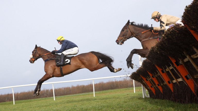 Charbel: bang on course for Henry VIII Novices' Chase this weekend