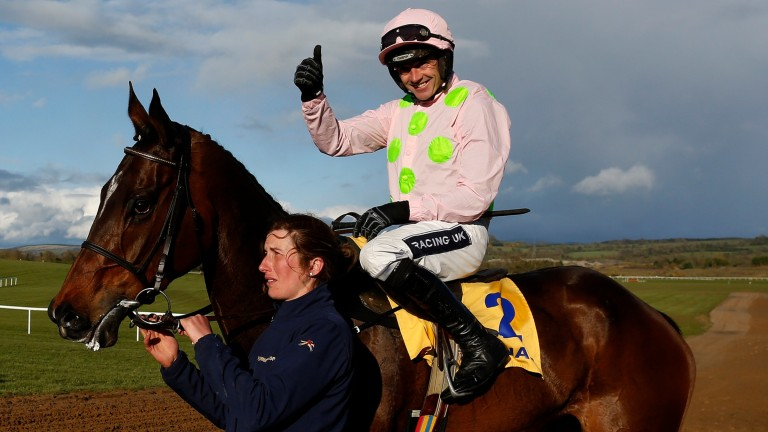 Douvan: the Arkle winner had been well backed for the Tingle Creek