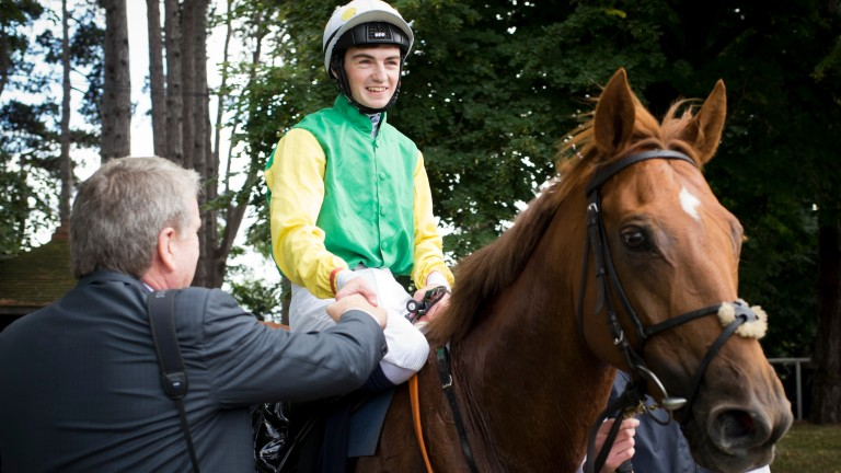 Quick Jack: one of two contenders for handicap king Tony Martin