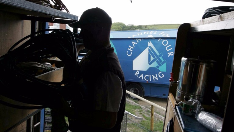 Channel 4 racing: packing up four days early