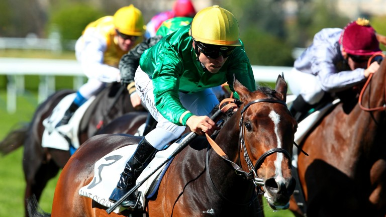 Camprock wins the Group 3 Prix Penelope at Saint-Cloud