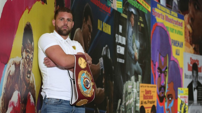 Middleweight champ Billy Joe Saunders
