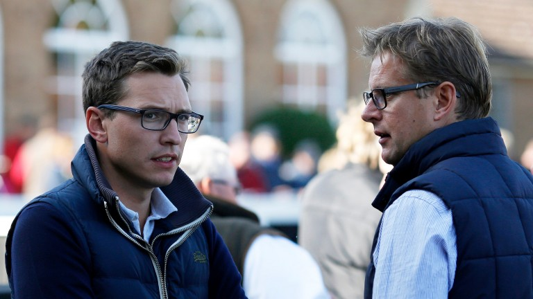 Ed Chamberlin (right) will front ITV racing's coverage from Cheltenham