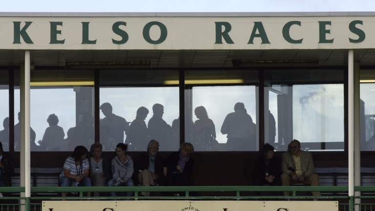 The stand at Kelso Racecourse