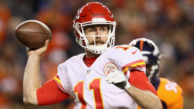 Kansas City quarterback Alex Smith