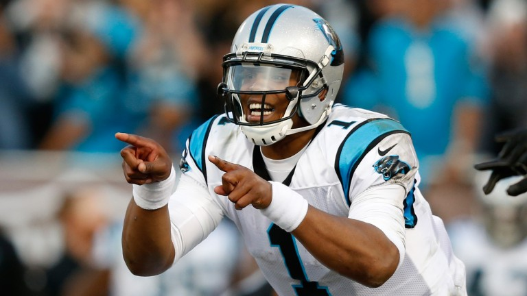 Carolina quarterback Cam Newton