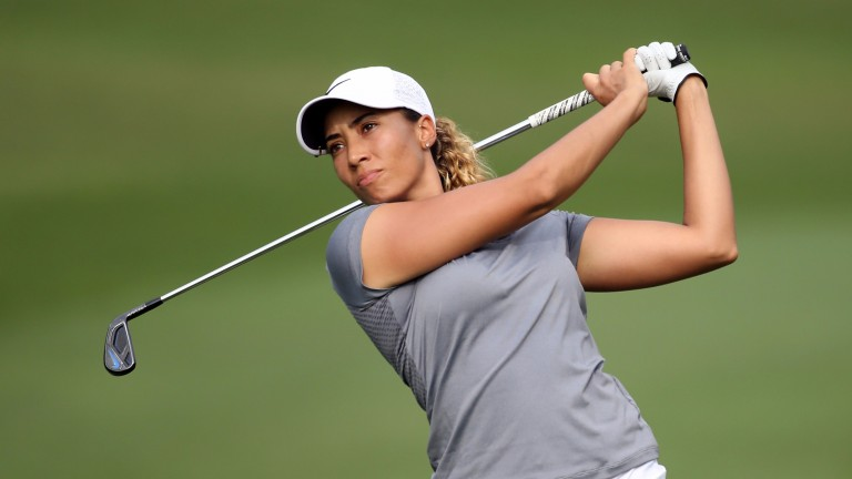Cheyenne Woods is a big price to shine in Dubai