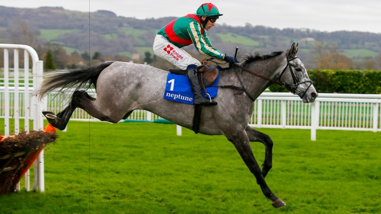 Champers On Ice: steps up in grade over fences