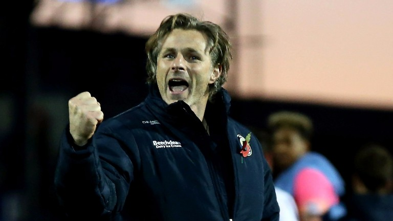Wycombe boss Gareth Ainsworth is plotting a cup upset