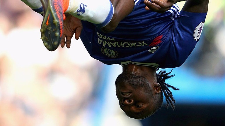 Victor Moses has been flipping brilliant for Chelsea this season