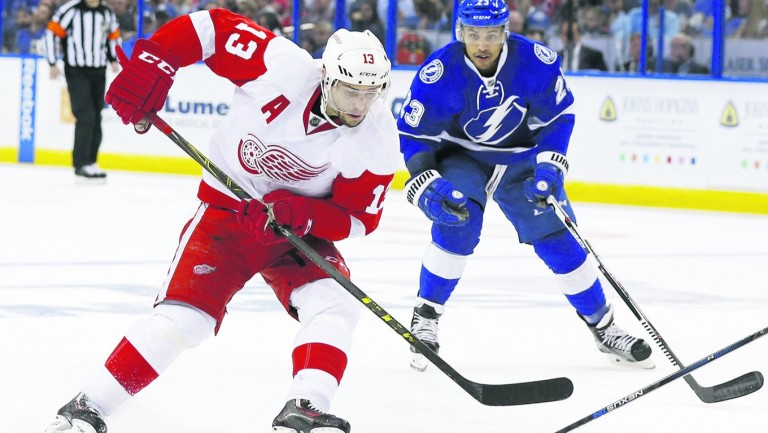 SKA caused a stir in the summer by luring Pavel Datsyuk (left) from Detroit