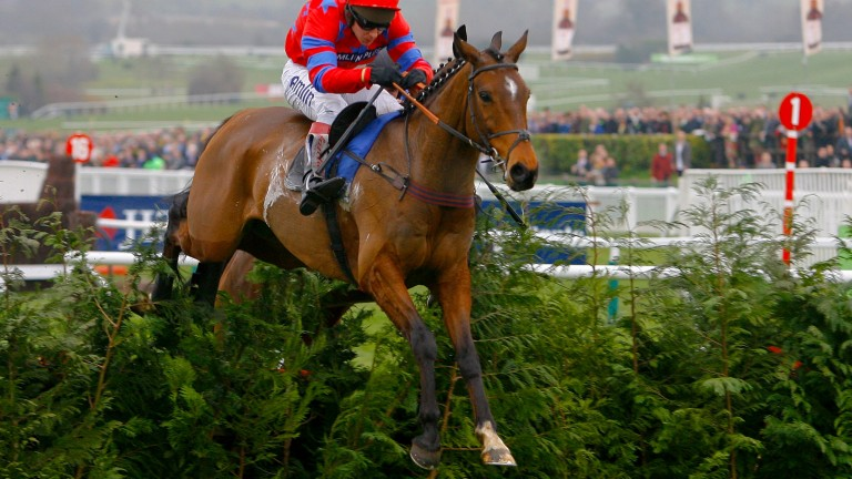 Balthazar King: in his pomp winning the Glenfarclas Cross-Country