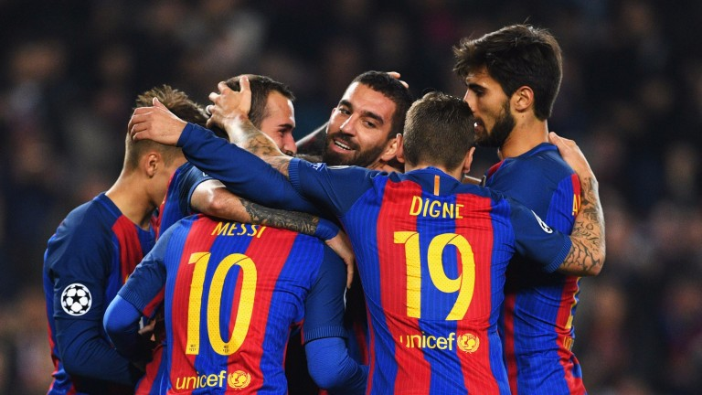Barcelona may have plenty to smile about
