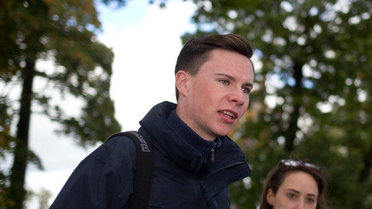 Joseph O'Brien: has his first jumps runners in Britain at Doncaster