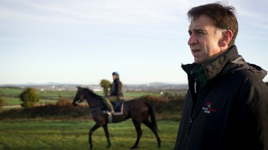 Henry de Bromhead: came in for special thanks from the Schuster family after they teamed up to record an emotional success with Niccolai at Wexford on Sunday