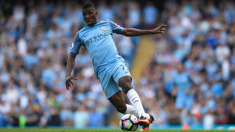 Kelechi Iheanacho is set to lead the line for Manchester City