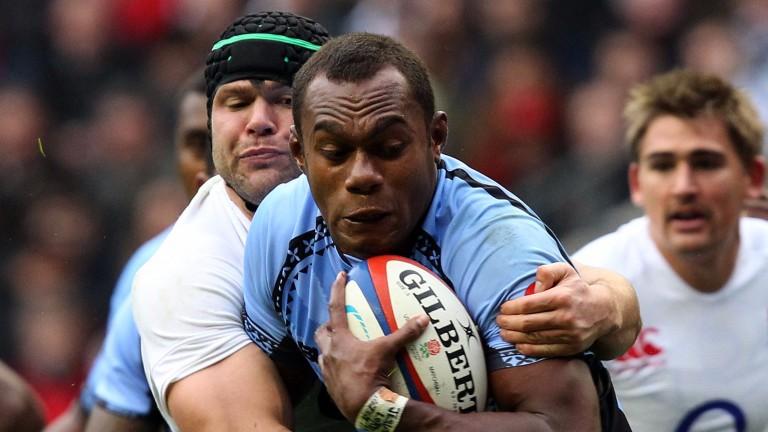 Racing's Fijian lock Leone Nakawara is a threatening ball-carrier
