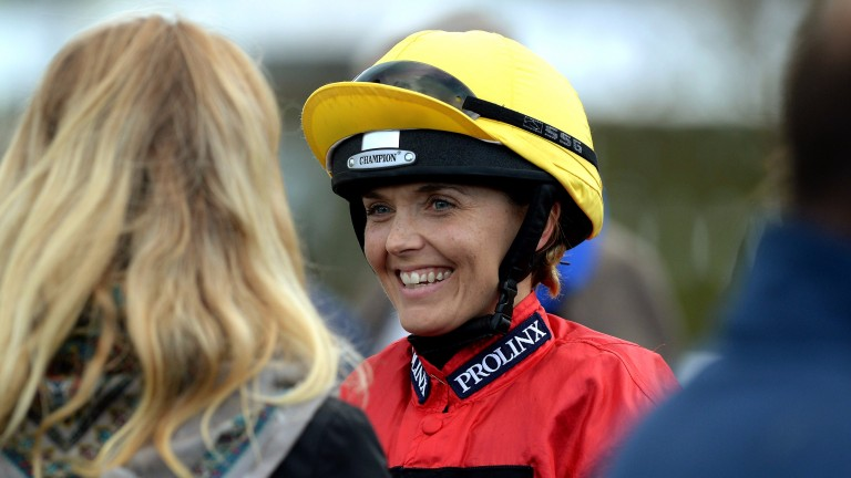 Victoria Pendleton - back in action at Larkhill