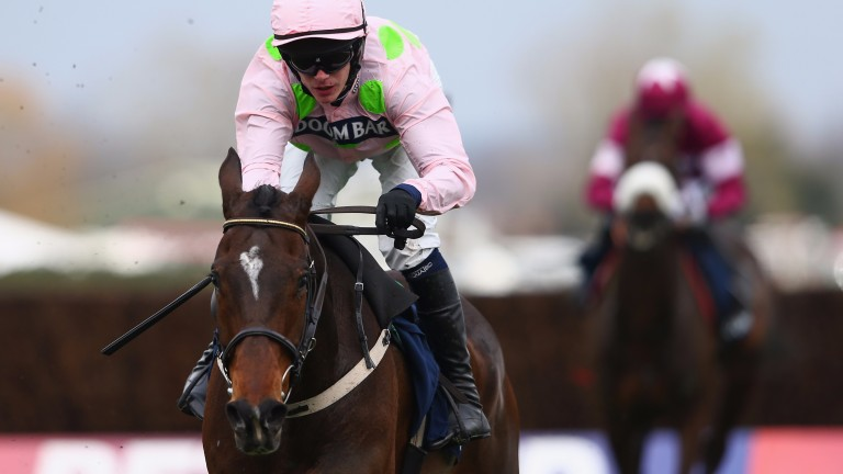 Paul Townend will be back on board superstar chaser Douvan in the Hilly Way at his local track in Cork