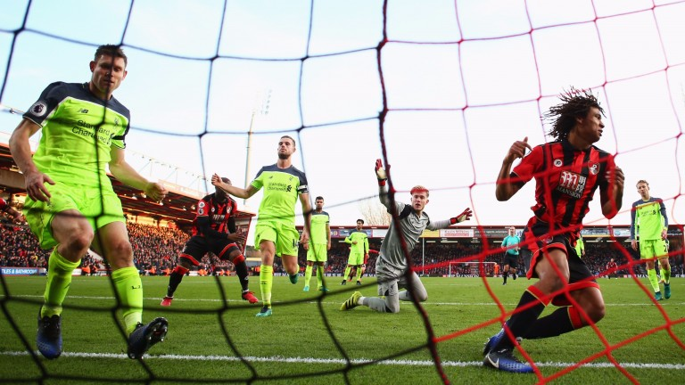 Bournemouth grabbed a late winner against Liverpool