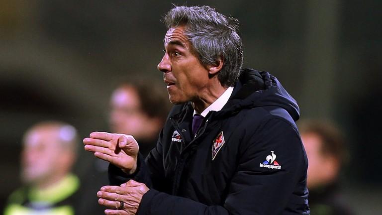 Fiorentina manager Paulo Sousa