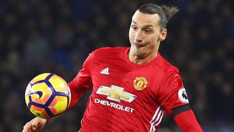 Manchester United's Zlatan Ibrahimovic has been in fine scoring touch