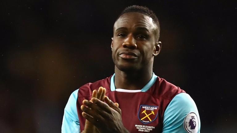 West Ham forward Michail Antonio