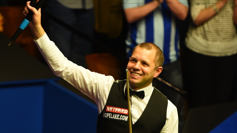 Barry Hawkins has shone in this series
