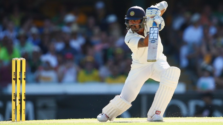 Murali Vijay has scored two centuries in the Test series against England