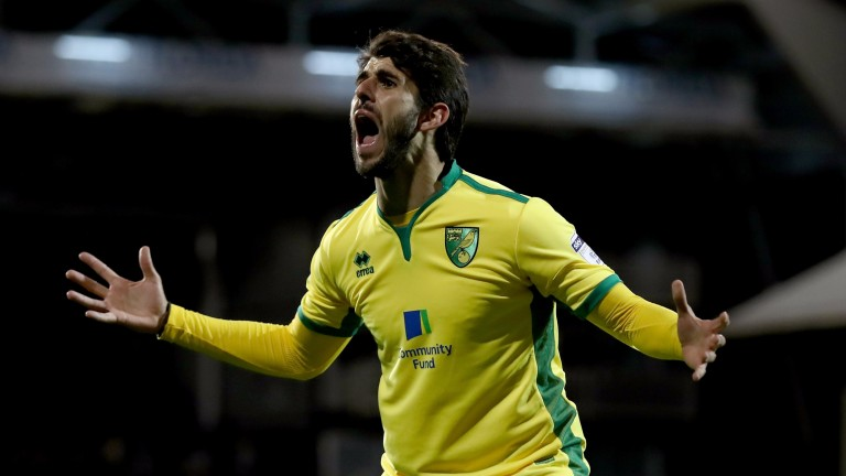 Nelson Oliveira has hit form in front of goal
