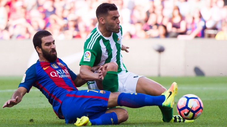 Real Betis defender Bruno Gonzalez