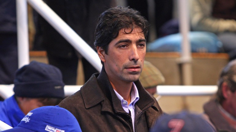 Mohamed Moubarak, pictured at Tattersalls in 2007