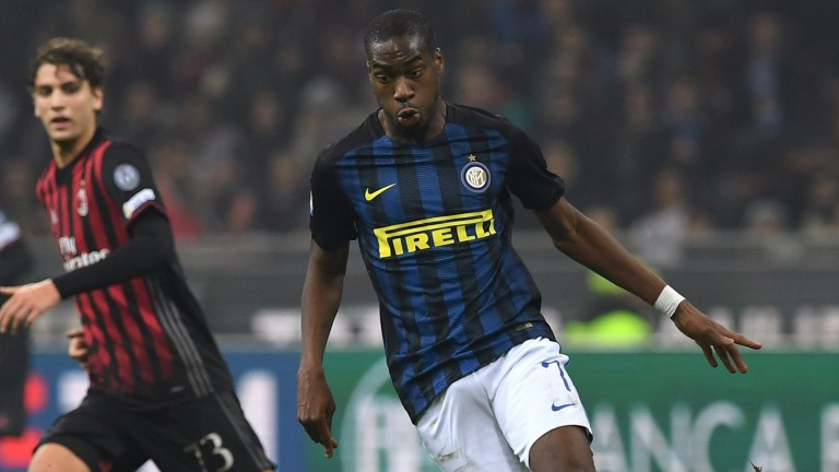 Inter midfielder Geoffrey Kondogbia