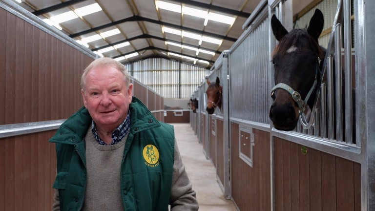 "Geoff Turnbull: ""Getting the standard of the mares up to what I call 'world class' isn't easy"""