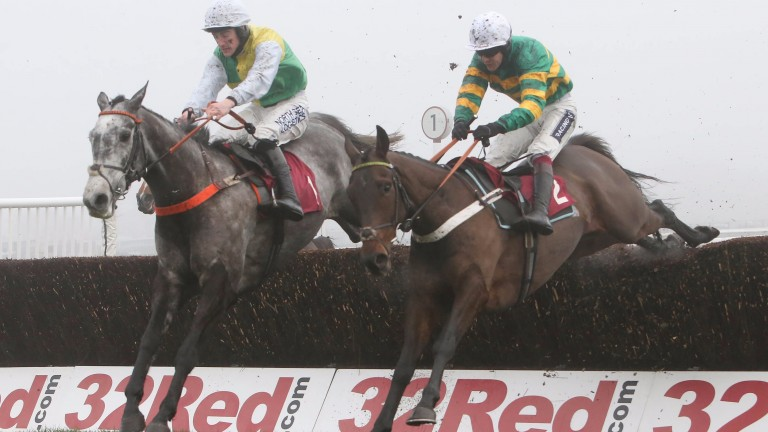 Buveur D'Air (right): made impressive chase debut