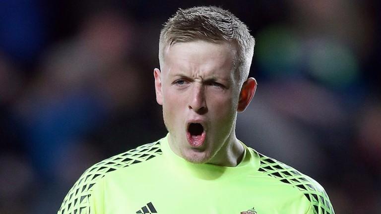 Jordan Pickford is earning rave reviews at Sunderland
