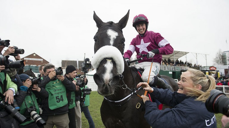 Centre of attention: all eyes on Gold Cup hero Don Cossack after his famous success