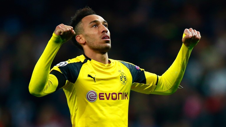 Pierre-Emerick Aubameyang had a night to forget in the first leg