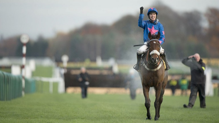 Cue Card: looks much the best at Ascot