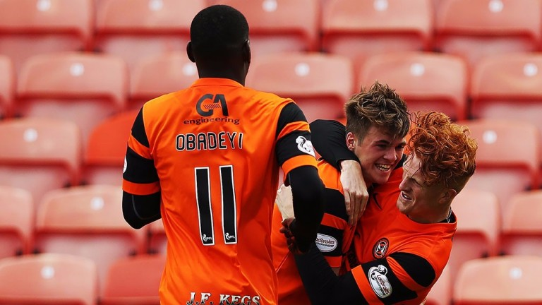 Dundee United are showing signs of improvement