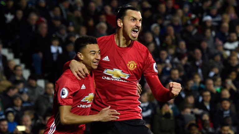Zlatan Ibrahimovic is capable of leading Manchester United's title charge