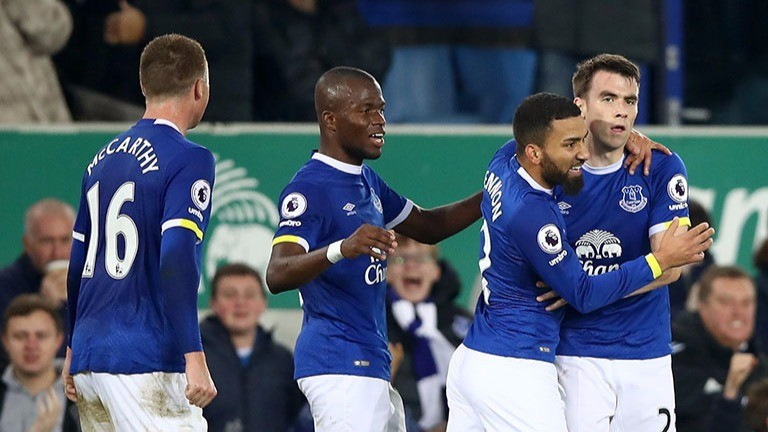 It has been goals galore in Everton games this season